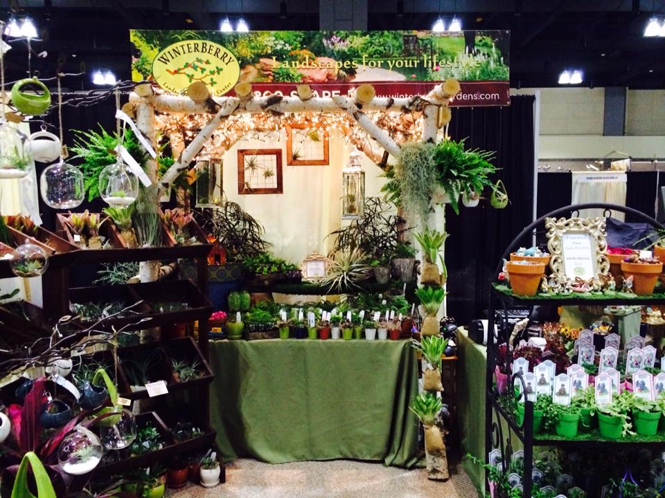 Winterberry Booth at the 2015 CT Flower and Garden Show